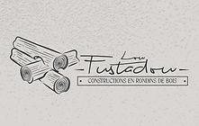 Mobilier de jardin en rondins de bois brut cantal auvergne artisan fuste fustier Table banc jardinière