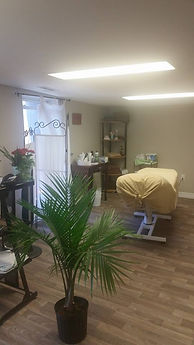 waxing and sugaring area