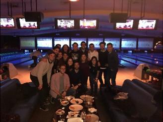 bowling nights with HUMAS