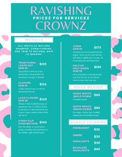 Ravishing Crownz Pricez
