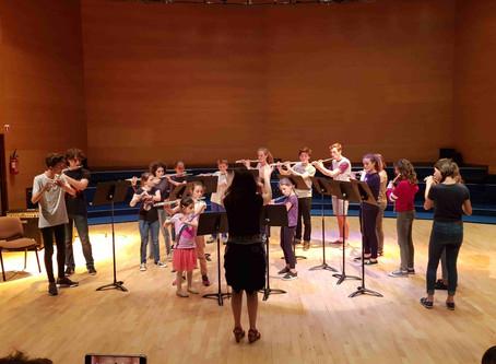 Audition des classes de flûte