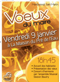 Concert à Montbonnot Saint-Martin pour les Vœux du maire