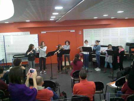 Auditions des classes de flûtes d'Hélène Girbal