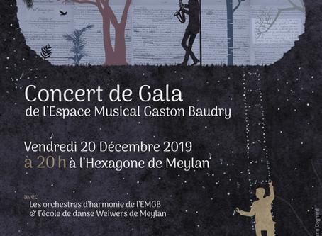 Un gala  de l'EMGB plein de poésie et de fantaisie pour préparer Noël le vendredi 20 décembre à 20h
