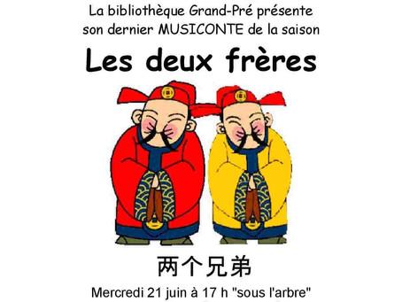 MUSICONTE – Les deux Frères – 21 juin 2017