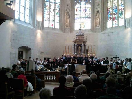 Silvain Koelsch a emmené des apprentis cornistes de l' EMGB aux journées du Cor de Chambéry