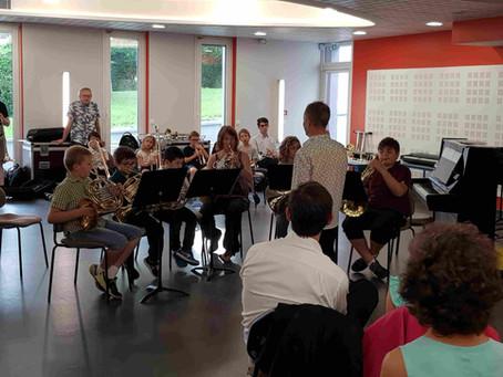 Semaine chargée pour les élèves de l'École d'Harmonie