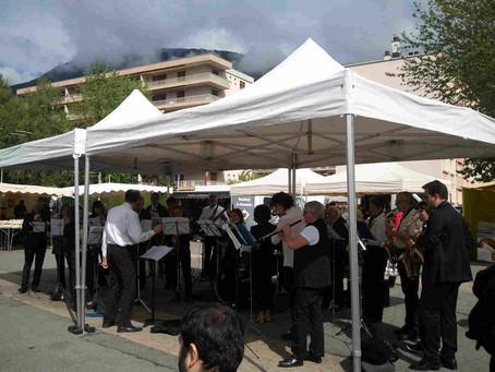 L'EMGB anime le printemps des marché à Meylan