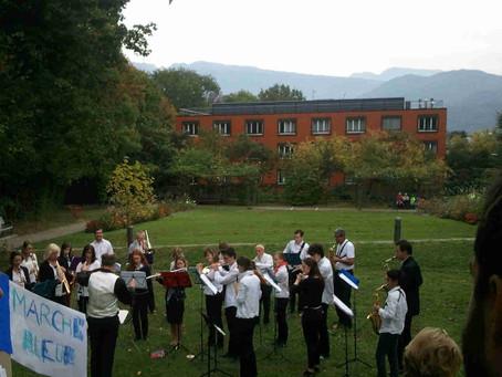 Moment musical au parc des Ombrages