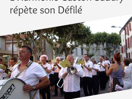 L'Harmonie Gaston Baudry répète son Défilé – 6 juin 2015