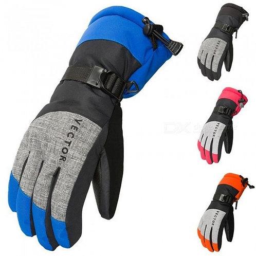 Women Men Ski Gloves Snowboard Gloves Snowmobile Motorcycle Riding Winter Gloves