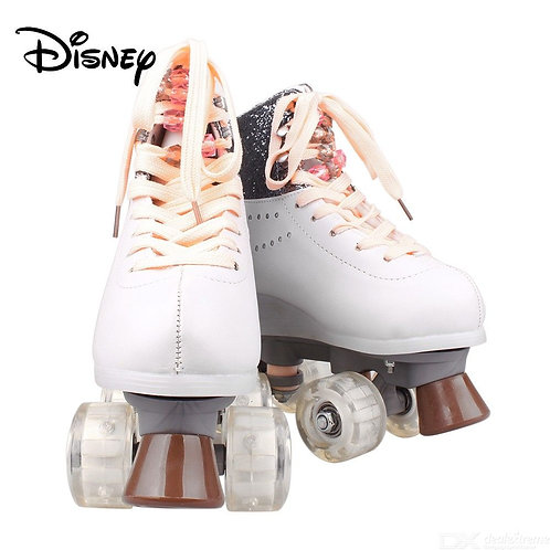 Disney Soy Luna Patines 2.0 Two-tone Light Up Skate Shoes For Girls W/ Charging