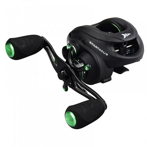 Spartacus 12BBs Super Light Baitcasting Reel Dual Brake System Freshwater