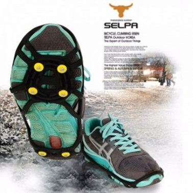Durable anti skid rubber ICE SNOW SHOES