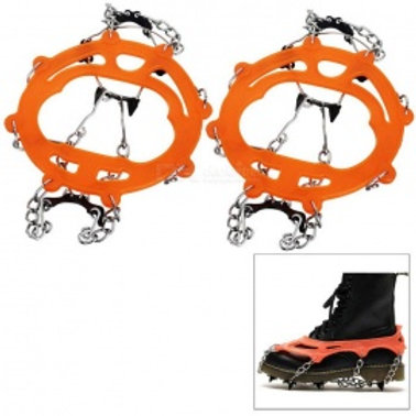 Anti-slip 8 teeth ICE SNOWSHOEING CRAMPONS