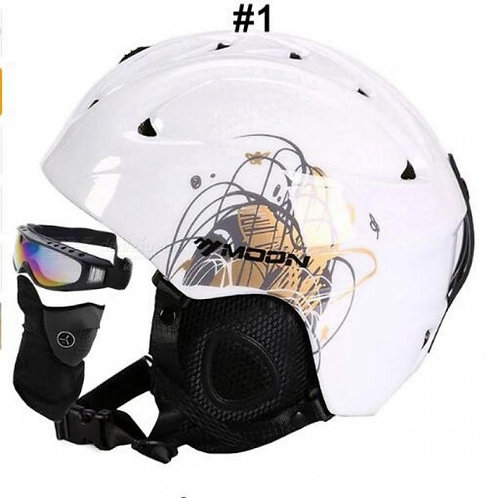 Ski Helmet Integrally-Molded Skiing Helmet For Adult and Kids Snow Helmet Safety