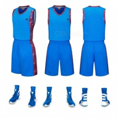 Basketball Jersey Shorts with sleeveless vest