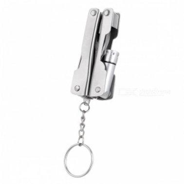 Multifunctional TOOLS with Keychain & LED FLASHLIFHT