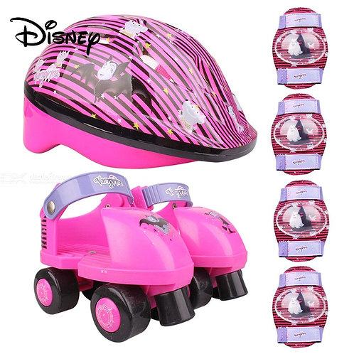 Disney Mini Vampirina Adjustable Roller Skates Shoes For Children - Talla