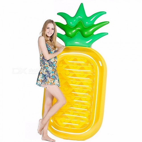 190CM Inflatable Pineapple Giant Pool Float Toys Swimming Ring Swimming Circle