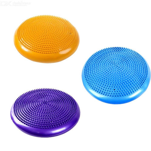 Inflatable Yoga Massage Ball Sports Training Balance Cushion Durable PVC Fitness