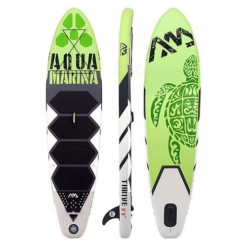300*75*15cm 10 Feet Inflatable Surf Board Surfboard with Pedal (Set B)