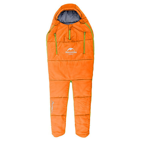 Naturehike Cotton Filling Sleeping Bag for Camping - Orange (L)