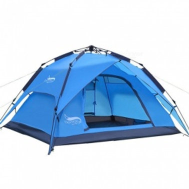 Outdoor double doors CAMPING TENT for (3-4)