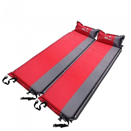 195*65*5cm Self-Inflating Camping Sleeping Pad Outdoor Mat Splicing Thick Camp