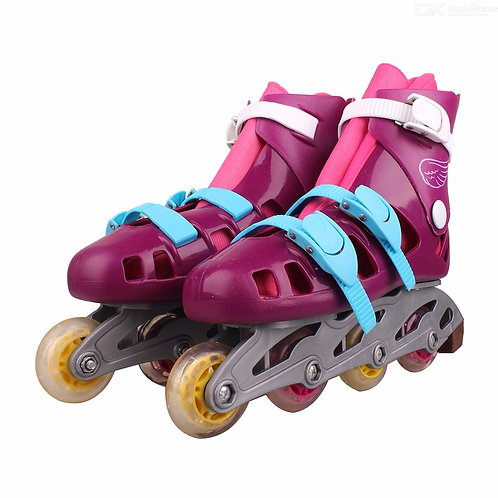 Disney Soy Luna Patines Girls Two-tone Roller Skate Shoes - Talla 36
