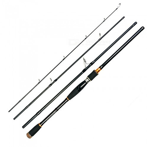 2.1 2.4 2.7m Lure Rod 4 Section Carbon Spinning Fishing Rod Travel Rod Casting