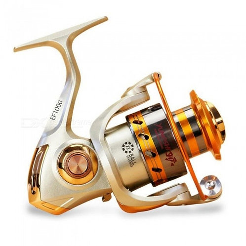 EF1000-7000 12BB 5.2:1 Metal Spinning Fishing Reel Fly Wheel for Fresh Salt