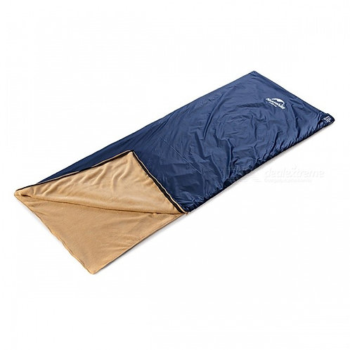 NH Portable Outdoor Indoor Adult Coral Velvet Sleeping Bag - Dark Blue