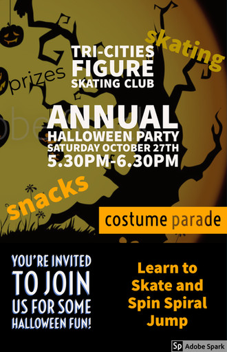 Halloween Friends and Family Skate!