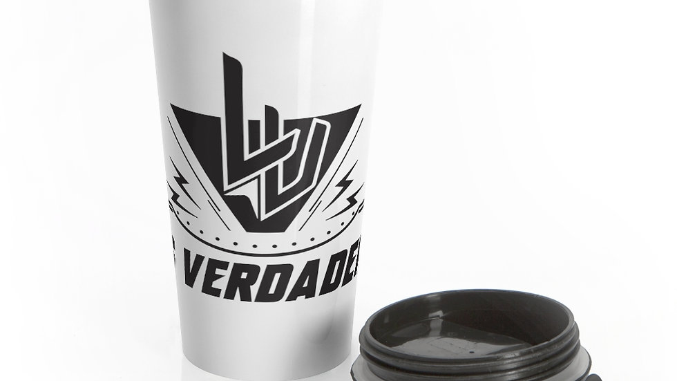 Los Verdaderos Stainless Steel Travel Mug