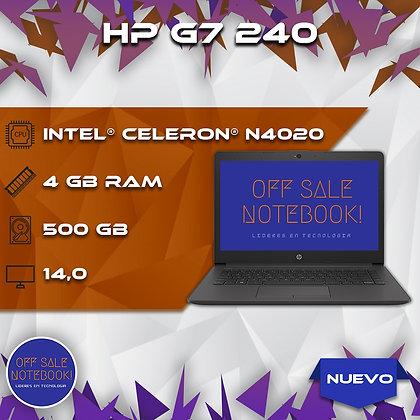 HP G7 240 CELERON