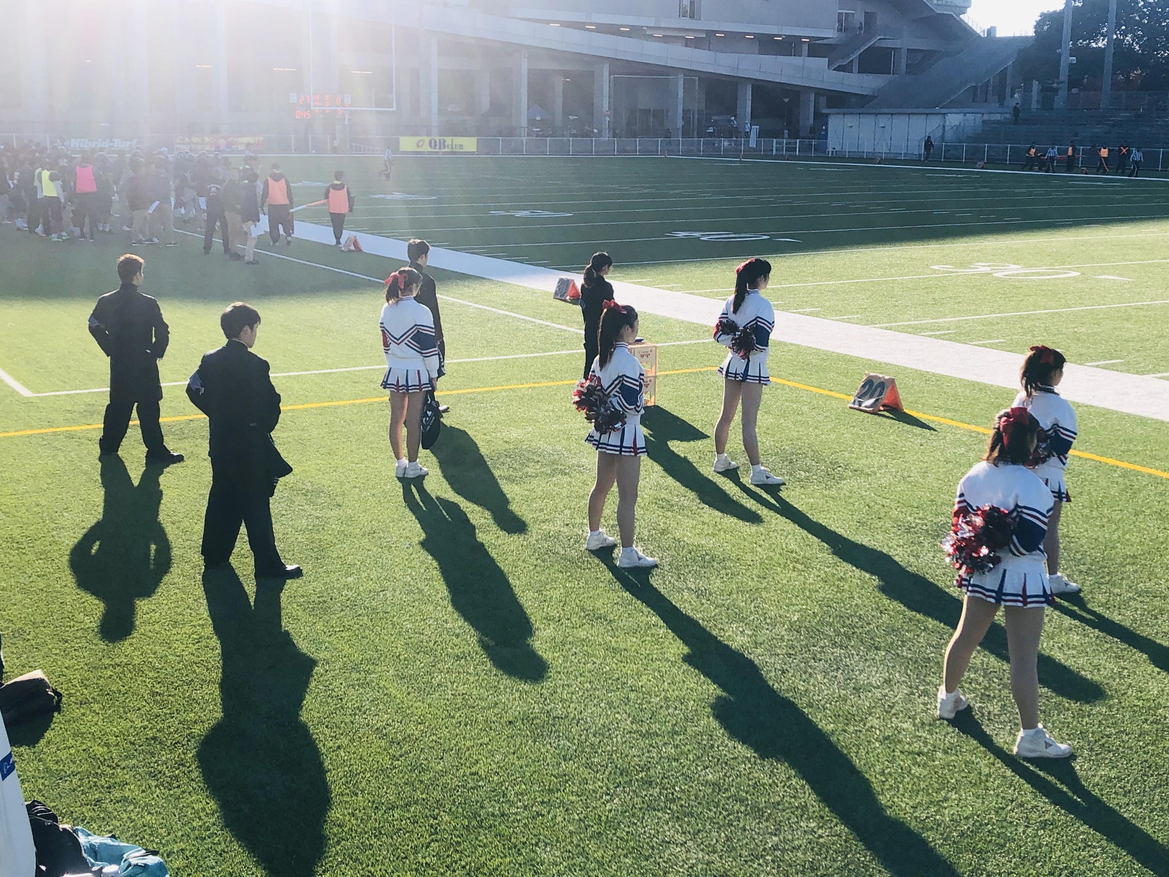 11/30 アメリカンフットボール応援対岡山大学戦 感想