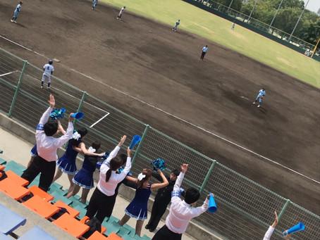 9/11 硬式野球応援  対太成学院大学戦