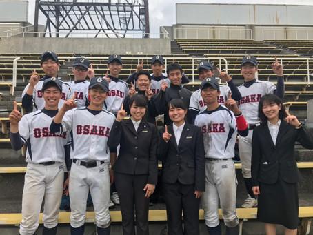 4/19 硬式準野球応援対神戸大学戦 感想
