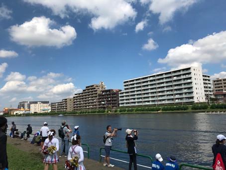 9/7 戸田ボート応援 感想