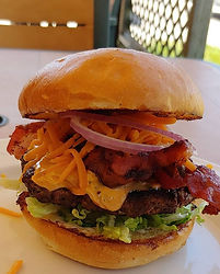 Love this burger. The Bacon Cheddar Chip