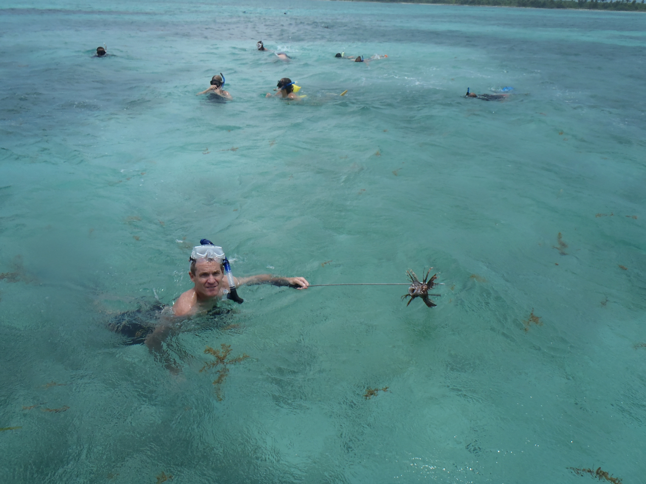 Photos of snorkeling and fishing in Belize shark Ray alley and Hol chan - 44 of 114