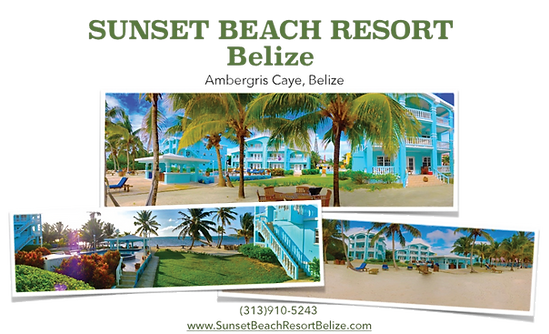 Sunset BeachResort is a privately owned, 12-unit condo complex. It has one, two and threebedroom condos that will sleep from 1 to 8 guests.   All the condos for rent at Sunset Beach Resort are individually owned and impeccably decorated.  Our beachfront vacation rentals are perfect for couples and families seeking a quality vacation rental accommodation in Belize at an affordable price.  Beach Resort on Ambergris Caye Belize.  Belize beach vacations. Vacation rentals in Belize.  Belize condos for rent.  Vacation_Rentals_Belize.  Best rentals in Belize. Sunset Condos in Belize.  Beach Villas for rent on Ambergris.  Ambergris vacation rental.  Beachfront properties in Belize.  Ambergris Caye rentals.  For rent on Ambergris Caye.