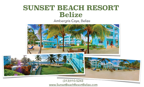 The Best Ambergris Vacation Rental Condos in Belize are at Sunset Beach Resort.Sunset Beach Resort is a private beachfront vacation rental property offering condos in Belize for rent by owner close to San Pedro, Ambergris Caye.    Sunset Beach Resort is the best San Pedro resort on Ambergris Caye for reviews, amenities & location!  Sunset Beach Resort is a   vacation rental property with 11 oceanfront condos for rent.  It has one, two and three bedroom San Pedro condo apartments & house condos that will sleep from 1 to 8 rental guests.    All our Ambergris condos for rent at Sunset Beach Condos are ocean front vacation rentals perfect for family friendly couples or families seeking a quality beach vacation rental accommodation in San Pedro, Belize at an affordable price.  Each of our Belize vacation rental condos for rent at Sunset Beach Condos in Belize are have a great view of the ocean in front of this beach vacation rental.  Sunset Beach is located on the island of Ambergris Caye,
