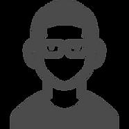 眼鏡をかけた男性の無料アイコン素材.png