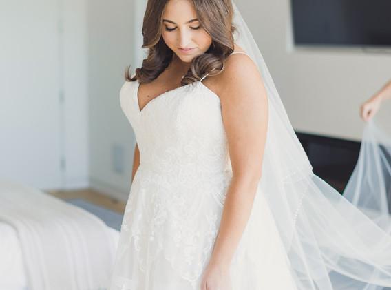 Bride Getting Ready at a Hollywood Hotel