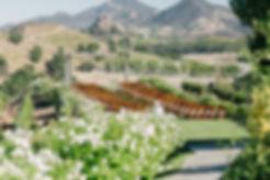 Outdoor_wedding_ceremony_Saddlerock_Ranch_Los Angeles_wedding_planner