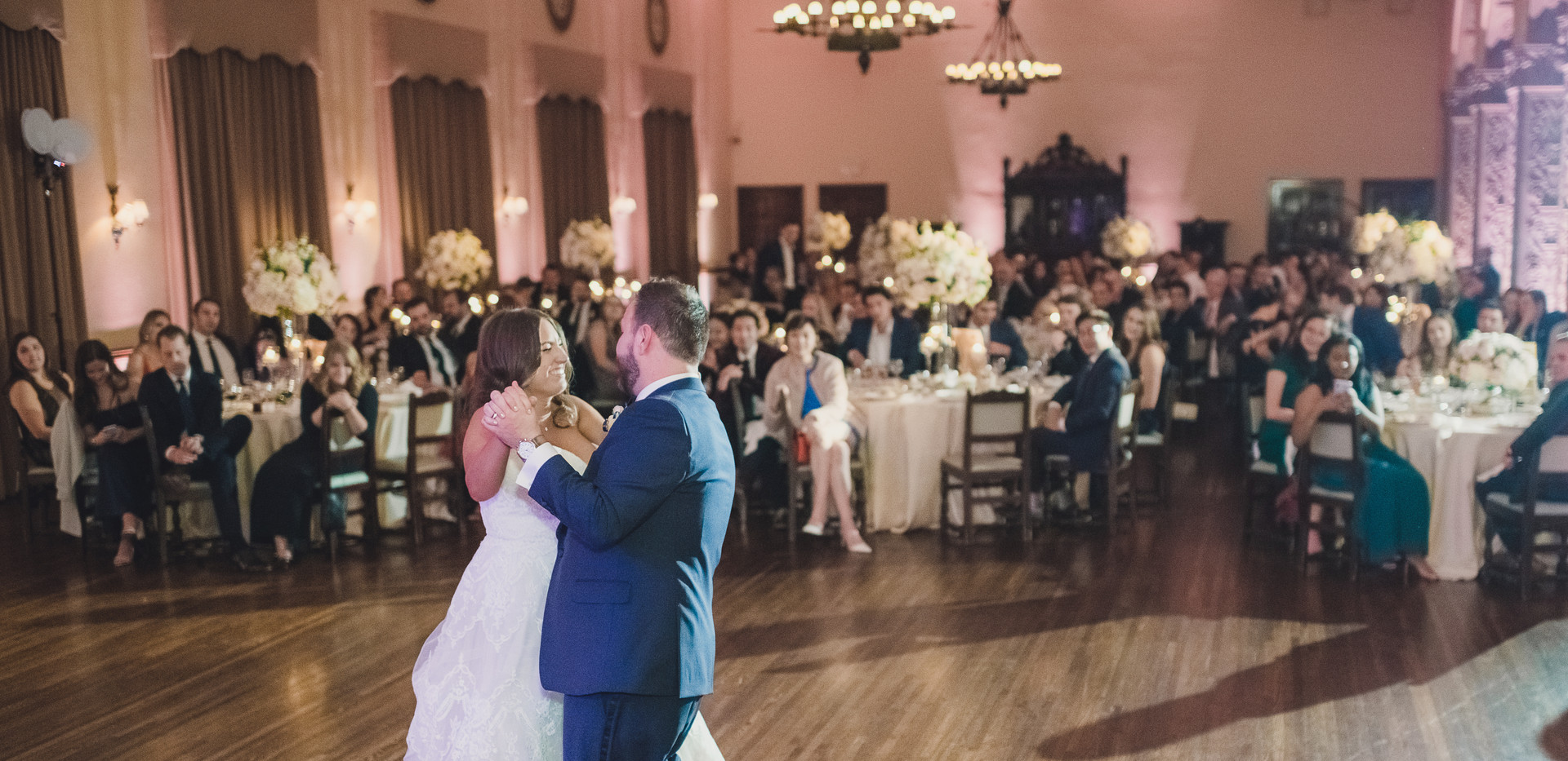 Historic Ebell of Los Angeles Wedding First Dance