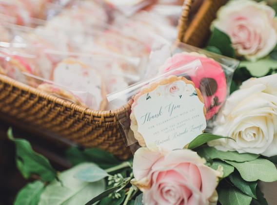 Custom Made Cookie Wedding Favors