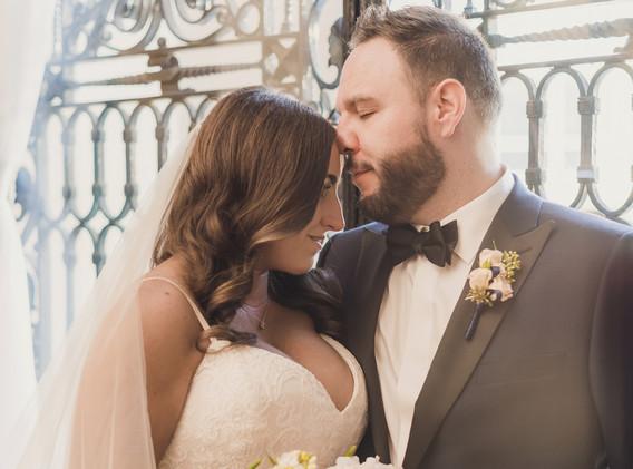 Elegant Los Angeles Wedding First Look